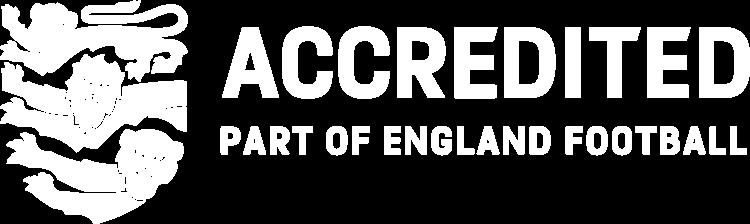EnglandAccredited Landscape WHITE LARGE